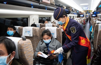 Special trains carry workers back to work across China