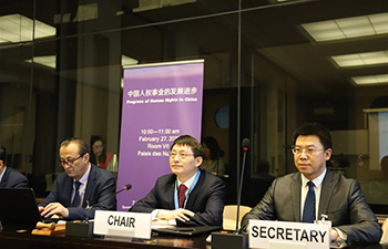 Chinese scholars share view on human rights protection at UN session