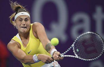 In pics: WTA Qatar Open women's singles semi-final match