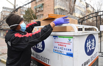 Delivery men work inside communities with sufficient prevention measures
