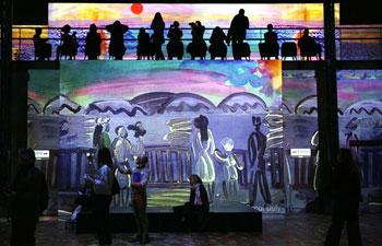 """Digital exhibition """"Monet, Renoir...Chagall: Journeys around the Mediterranean"""" held in Paris"""