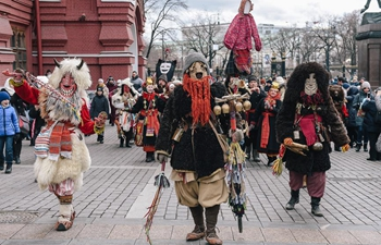 Maslenitsa festival celebrated in Moscow