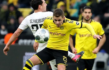 German Bundesliga: Borussia Dortmund vs. SC Freiburg