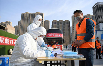 Workers back to work amid epidemic control in Lanzhou, Gansu