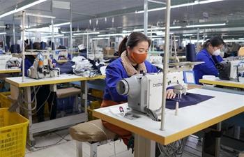Enterprises resume production amid epidemic fight
