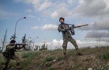 In pics: As-Sawani frontline in Tripoli, Libya