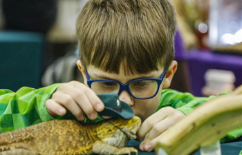 Reptile Rampage event held in Lake Forest, Illinois