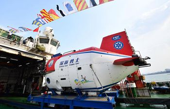 China's manned submersible starts new expedition