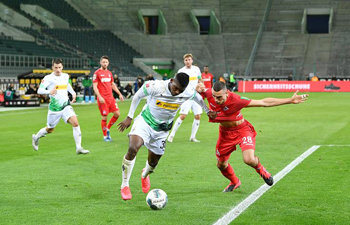 Monchengladbach secure 2-1 win over rivals Cologne in Bundesliga