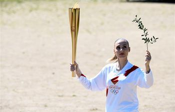 Olympic flame lit for Tokyo 2020 in Games' birthplace