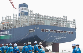 Shipyard company steps up resumption of production with epidemic prevention measures