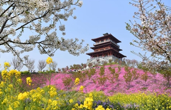 Blooming flowers seen across China