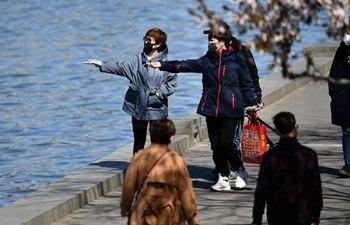 People enjoy leisure time in Tianjin