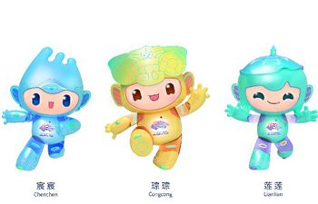 Mascots of 19th Asian Games Hangzhou 2022 unveiled