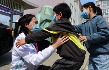 Members of 5th batch of medical assistance teams of Heibei return home after 14-day quarantine