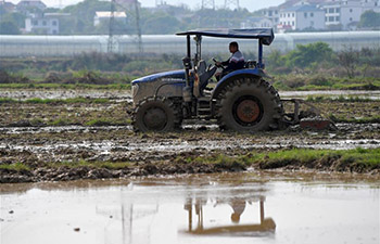 Local farmers busy with spring farming in Nanchang