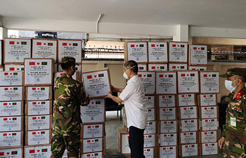 China donates medical supplies to Bangladeshi hospitals in Dhaka