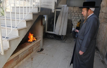 Final preparations made for Jewish Passover holiday in Jerusalem