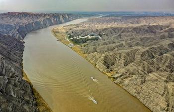 Scenery of Qingtongxia Grand Canyon of Yellow River