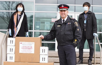Chinese Police Liaison Officer in Canada donates medical supplies to York Regional Police
