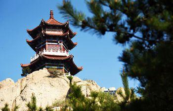 Scenery of Jiuxian Mountain in Shandong