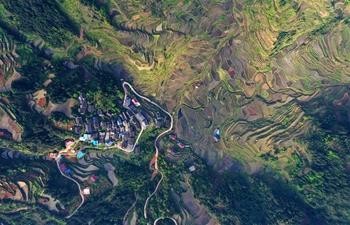 In pics: terraced fields in Guangxi