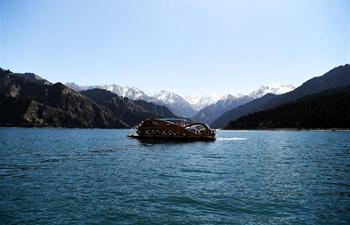 In pics: Tianchi lake in NW China