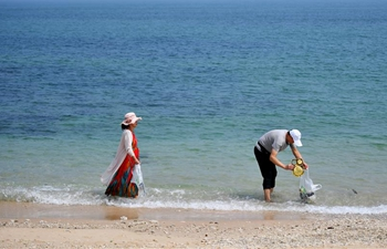 Waste bank established to protect environment in Wenchang, S China