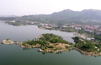 View of Xueye Lake in Jinan, E China