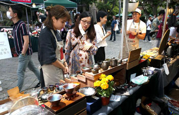 Night fair of Sinan Mansions opens to boost nighttime economy in Shanghai