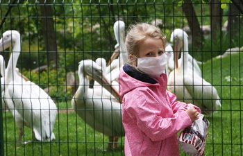 Kiev zoo reopens to public with controlled visitor flow