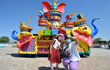 Theme park in Changchun reopens with limit on visitor numbers