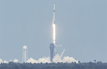 SpaceX launches NASA astronauts into orbit on historic mission