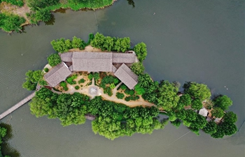 Ecological environment improved in coal mining area in Tangshan City