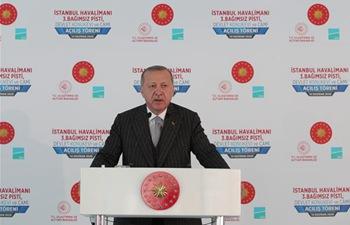 Turkey's Istanbul Airport inaugurates 3rd runway