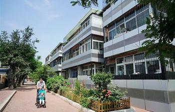 Old residential communities get renovated in Tangshan, Hebei