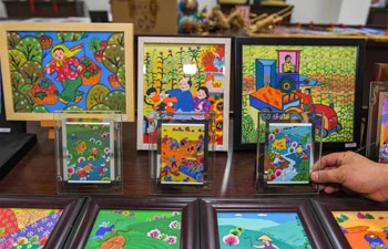 Lishu County's farmer paintings depict vivid rural life, boost locals' incomes