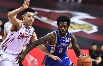 Jiangsu trounce Qingdao in CBA (updated)