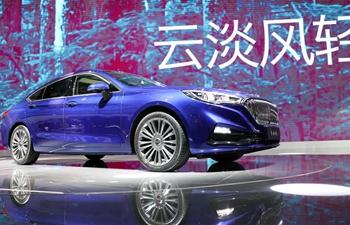Hongqi H5 sedan displayed at 17th China Changchun Int'l Automobile Expo