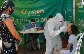 Israel's COVID-19 cases surpass 40,000, daily cases hit record high