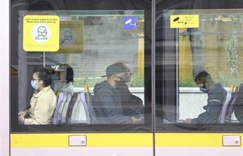 Wearing mask on public transport becomes mandatory in Ireland