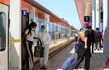 Mombasa-Nairobi Standard Gauge Railway resumes passenger service