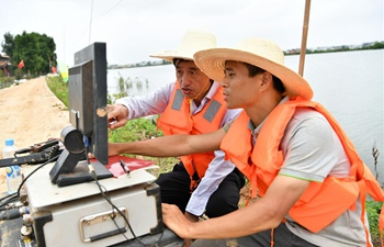 Tech team supports local flood control efforts in Jiangxi