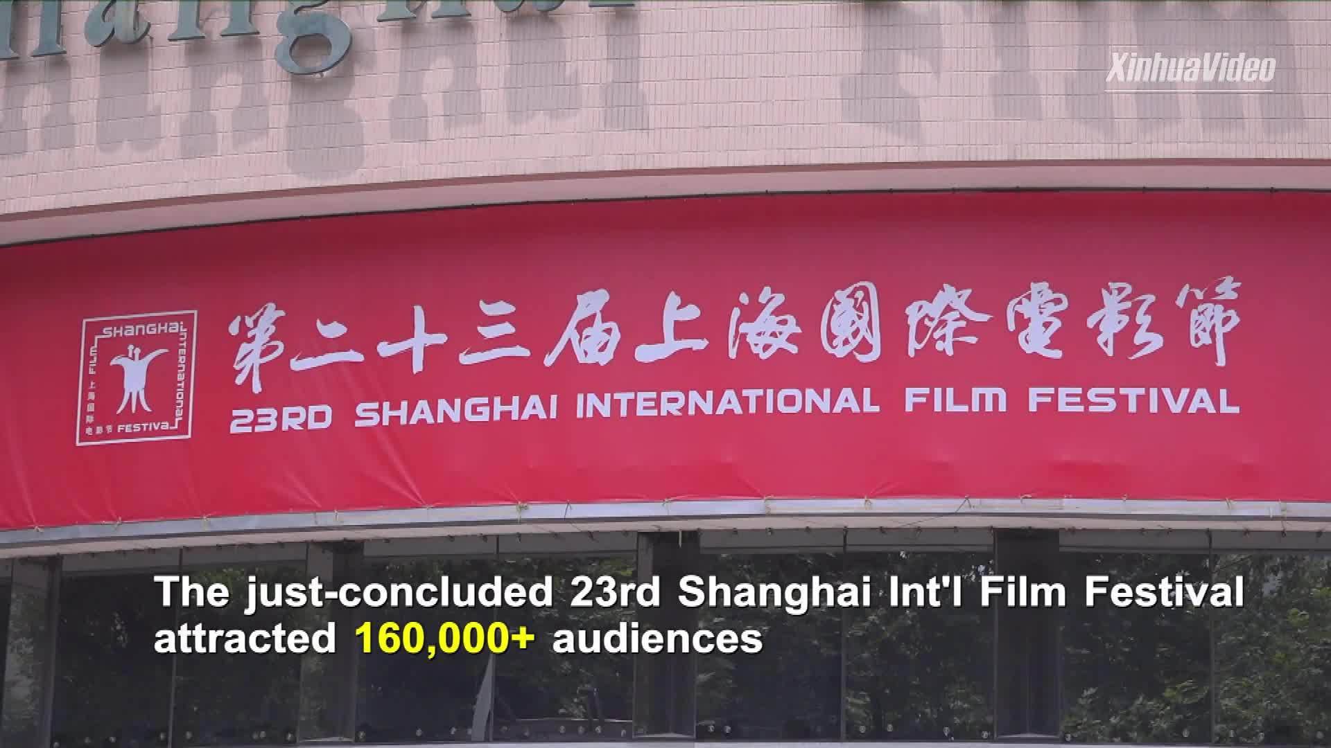 Recovery signals at Shanghai International Film Festival