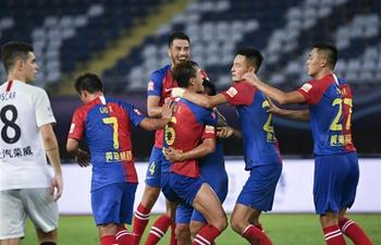 Shanghai SIPG draw Qingdao Huanghai 1-1 in Chinese Super League