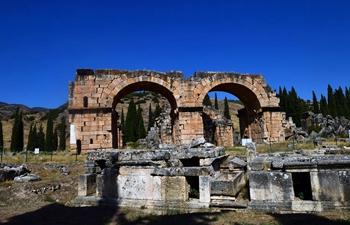 In pics: ruins of Hierapolis in Denizli, Turkey