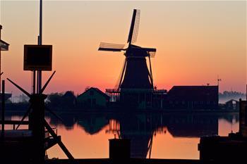 In pics: windmills of Zaanse Schans neighborhood in Zaandijk, the Netherlands