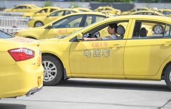 Main driving test venues in Fuzhou operate at full capacity