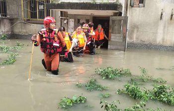 Heavy rain wreaks havoc in SW China's Sichuan