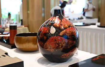 Lacquerware exhibition held in Fuzhou